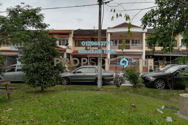 Terrace For Sale in Taman Cempaka, Pandan Indah Freehold Semi Furnished 3R/3B 700k