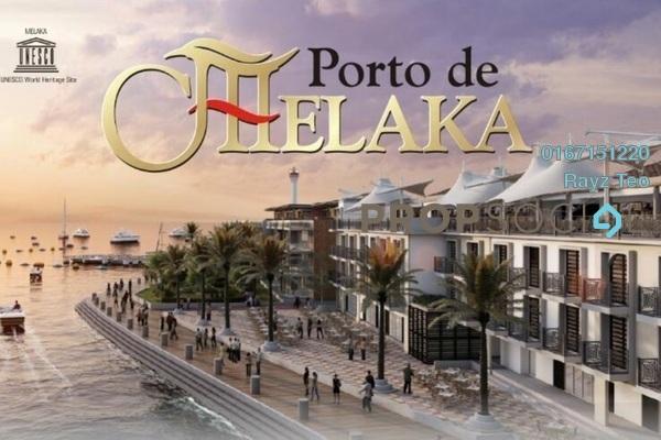 Apartment For Sale in Porto de Melaka, Bandar Melaka Freehold Semi Furnished 3R/2B 710k