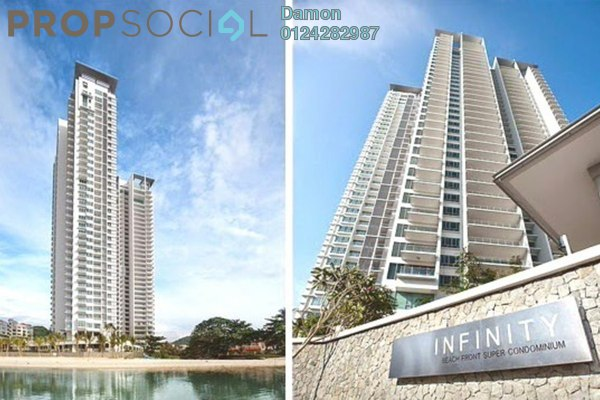 Condominium For Sale in Infinity, Tanjung Bungah Freehold Fully Furnished 7R/6B 6.5m