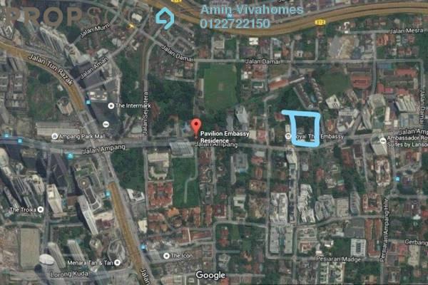 For Sale Land at Binjai Residency, KLCC Freehold Unfurnished 1R/1B 10m
