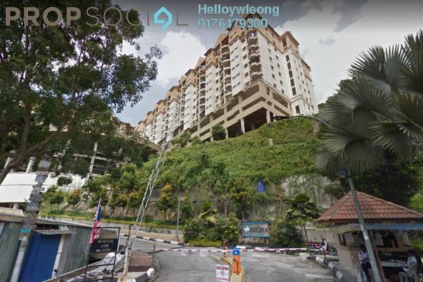 Apartment For Sale in Ixora Apartment, Kepong Freehold Fully Furnished 3R/2B 275k