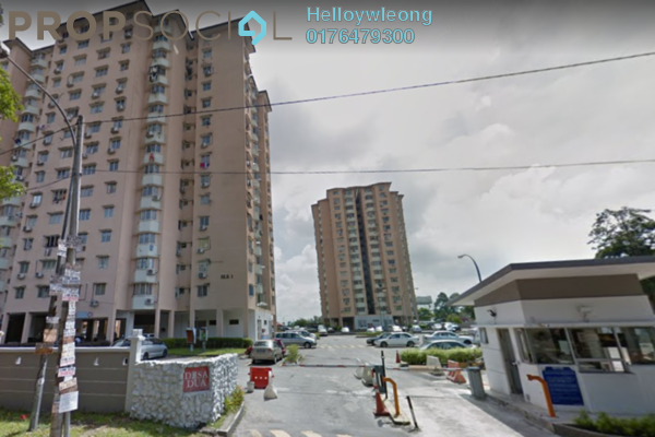 Apartment For Sale in Desa Dua, Kepong Freehold Semi Furnished 3R/2B 320k
