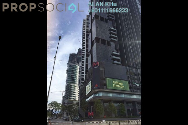 Duplex For Rent in M City, Ampang Hilir Freehold Fully Furnished 1R/1B 2.5k