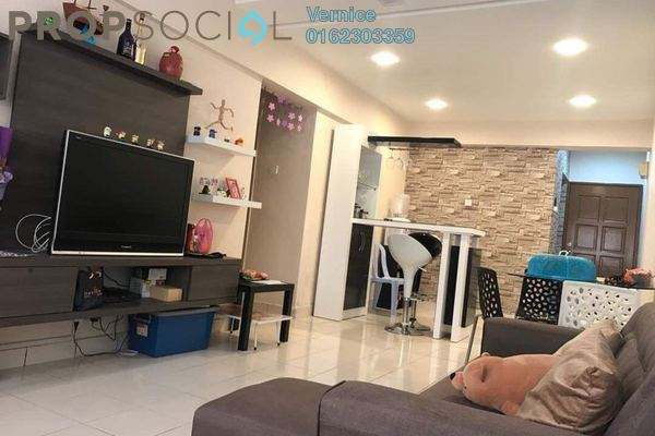 Condominium For Sale in Petaling Indah, Sungai Besi Freehold Fully Furnished 3R/2B 343k