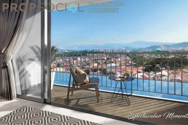 Condominium For Sale in PV18 Residence, Setapak Freehold Semi Furnished 3R/2B 440k
