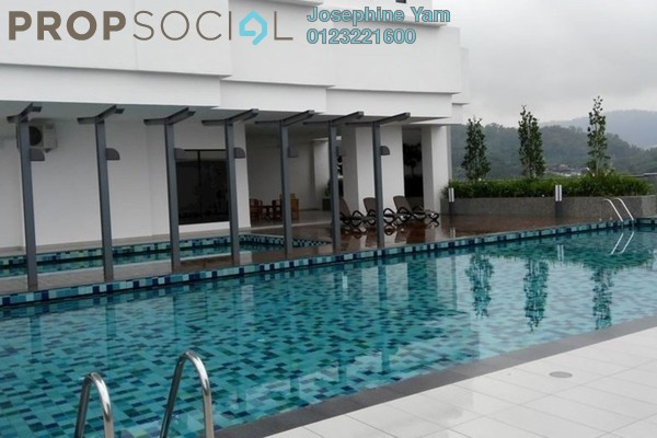 Condominium For Rent in Vila Vista, Cheras Freehold Semi Furnished 4R/4B 2.8k