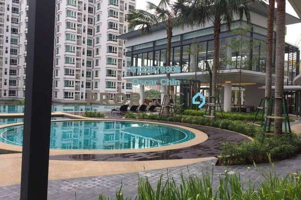 Condominium For Rent in V Residence 2 @ Sunway Velocity, Cheras Freehold Semi Furnished 2R/2B 2.5k