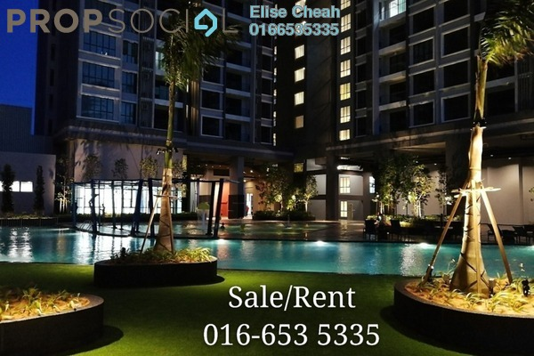 Condominium For Rent in LakePark Residence @ KL North, Selayang Freehold Semi Furnished 3R/2B 2.3k