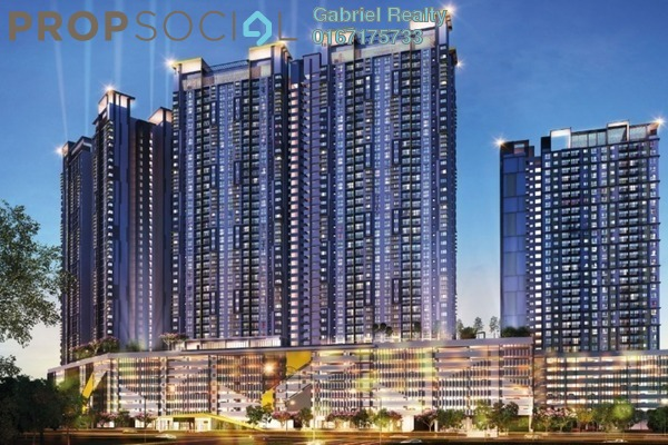 Condominium For Sale in PV18 Residence, Setapak Freehold Unfurnished 4R/3B 420k