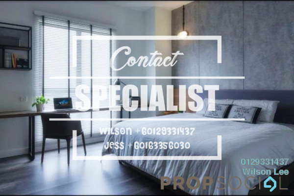 Condominium For Rent in The Westside One, Desa ParkCity Freehold Fully Furnished 1R/1B 2.4k