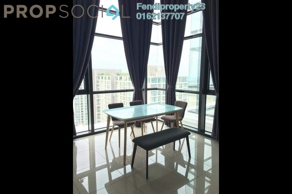 Condominium For Rent in Eclipse Residence @ Pan'gaea, Cyberjaya Freehold Fully Furnished 3R/2B 1.65k