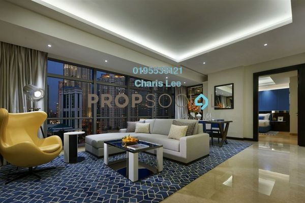 Serviced Residence For Sale in The Ritz-Carlton Residences, KLCC Freehold Semi Furnished 1R/1B 2.92m