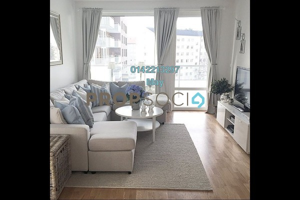 For Rent Condominium at Diamond Residences, Setapak Freehold Semi Furnished 4R/2B 1.4k