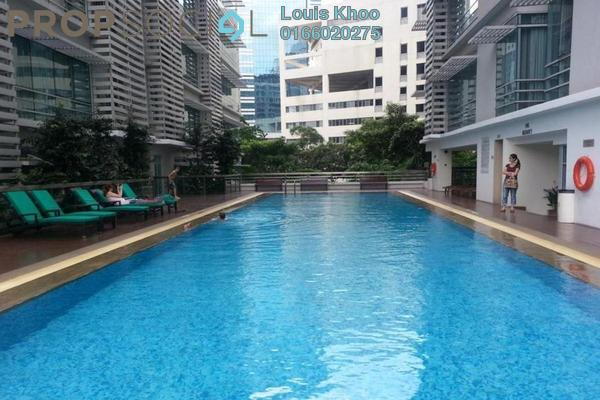 Condominium For Sale in One Residency, Bukit Ceylon Freehold Fully Furnished 2R/2B 900k