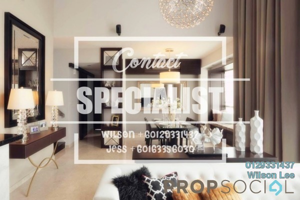 Condominium For Rent in The Northshore Gardens, Desa ParkCity Freehold Fully Furnished 1R/2B 3k