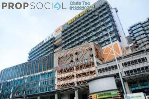 Kediaman Berservis Untuk dijual di Centrestage, Petaling Jaya Leasehold Fully Furnished 1R/1B 410Ribu