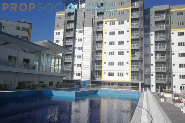 Condominium For Sale in Permata Residence, Bandar Sungai Long Freehold Semi Furnished 3R/2B 520k