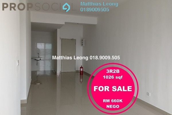 Condominium For Sale in Skyvilla @ D'Island, Puchong Freehold Unfurnished 3R/2B 660k