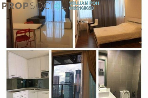 Condominium For Rent in Summer Suites, KLCC Freehold Fully Furnished 1R/1B 2.5k