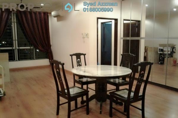 Condominium For Sale in Casa Tiara, Subang Jaya Freehold Semi Furnished 3R/2B 628k