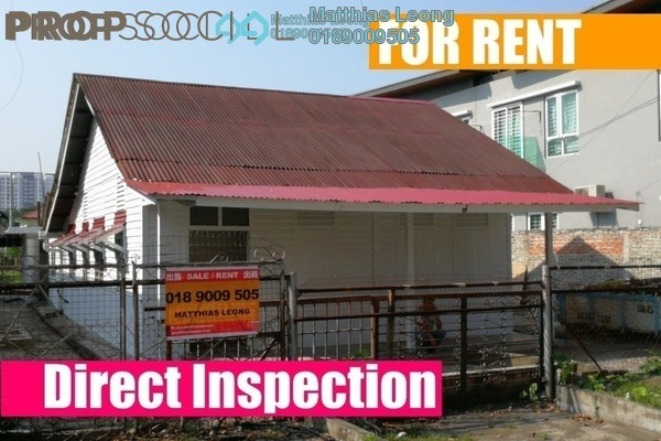 Bungalow For Rent in Section 1, Petaling Jaya Freehold Unfurnished 9R/1B 2.5k