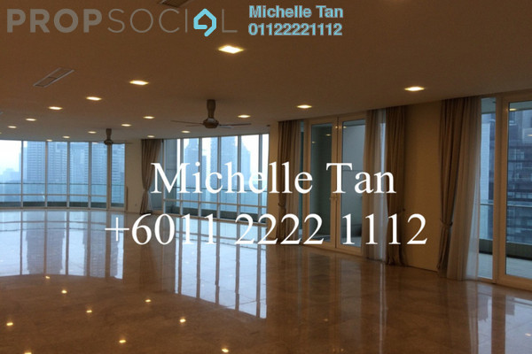 Condominium For Sale in The Oval, KLCC Freehold Semi Furnished 5R/7B 9.78m