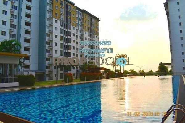 Apartment For Sale in Seri Baiduri, Setia Alam Freehold Unfurnished 3R/2B 308k