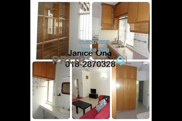 Apartment For Rent in Manor Apartment, Cheras Freehold Fully Furnished 3R/2B 1.6k