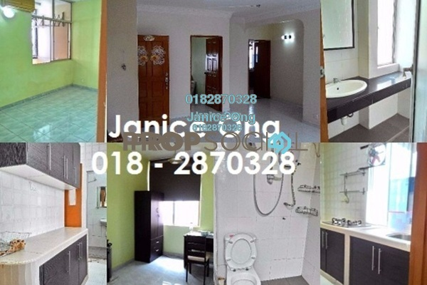 Apartment For Rent in Manor Apartment, Cheras Freehold Semi Furnished 3R/2B 1.55k
