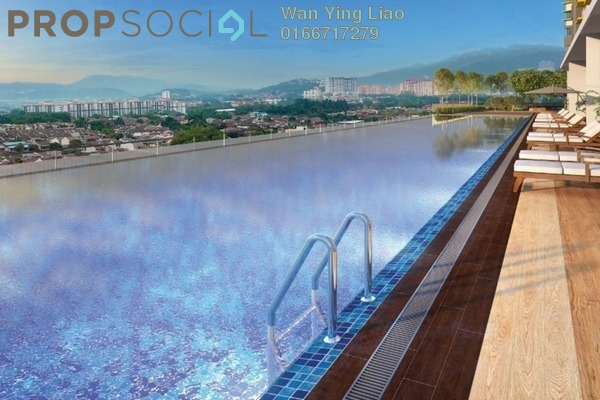 Condominium For Sale in PV18 Residence, Setapak Freehold Unfurnished 3R/2B 400k