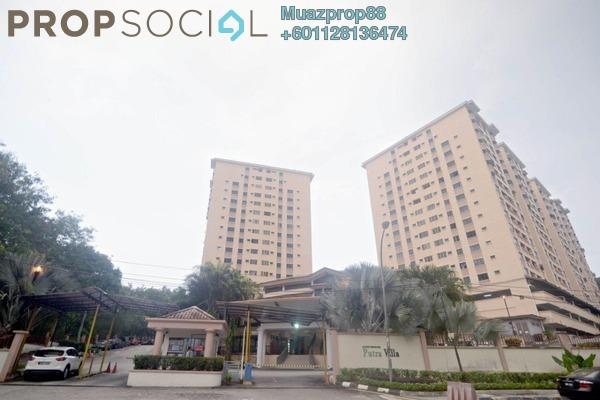 Condominium For Sale in Putra Villa, Gombak Freehold Semi Furnished 3R/2B 460k
