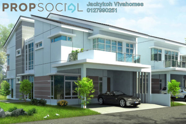 Terrace For Sale in Ascott Hill, Bukit Rahman Putra Freehold Unfurnished 6R/5B 1.6m