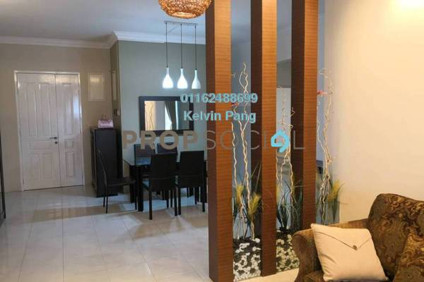 Condominium For Sale in BaysWater, Gelugor Freehold Fully Furnished 4R/2B 915k
