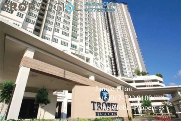 Condominium For Sale in Tropez Residences, Danga Bay Freehold Unfurnished 2R/2B 660k