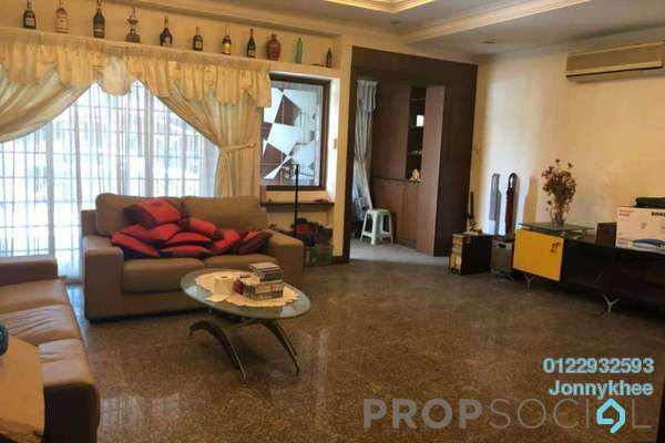 Terrace For Sale in Taman Rainbow, Jalan Ipoh Freehold Semi Furnished 4R/3B 1.28m