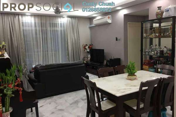 Apartment For Sale in Intan Apartment, Setiawangsa Leasehold Semi Furnished 3R/2B 420k
