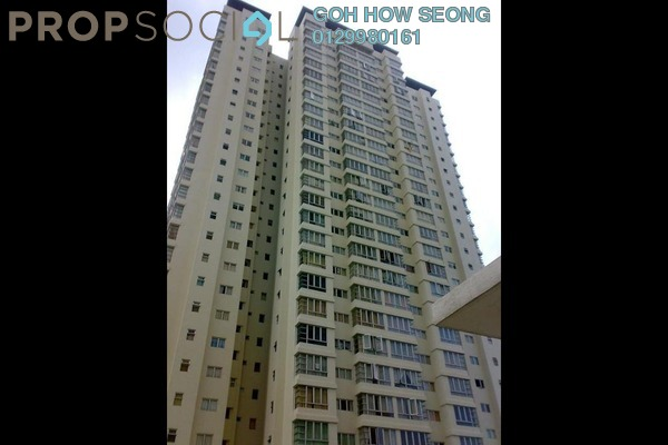Condominium For Sale in The Tamarind, Sentul Freehold Semi Furnished 3R/2B 658k