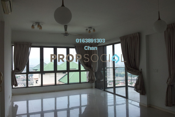 For Rent Condominium at The Maple, Sentul Freehold Semi Furnished 3R/3B 2.8k