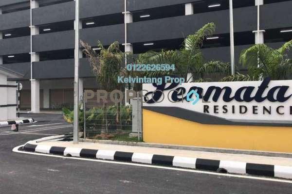 Condominium For Rent in Permata Residence, Bandar Sungai Long Freehold Unfurnished 3R/2B 1k