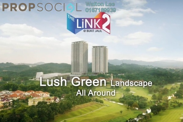 Condominium For Sale in The Link 2 @ Bukit Jalil, Bukit Jalil Freehold Semi Furnished 2R/1B 550k
