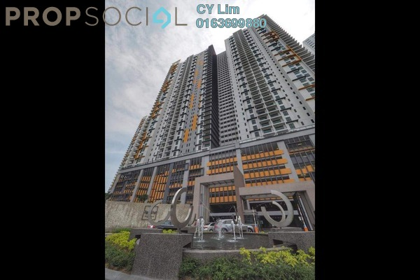 Condominium For Rent in Parkhill Residence, Bukit Jalil Freehold Semi Furnished 3R/2B 1.7k