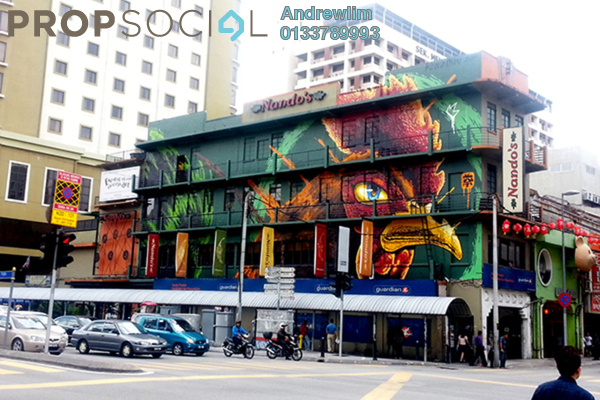 Shop For Sale in Petaling Street, Pudu Freehold Semi Furnished 0R/8B 5.8m