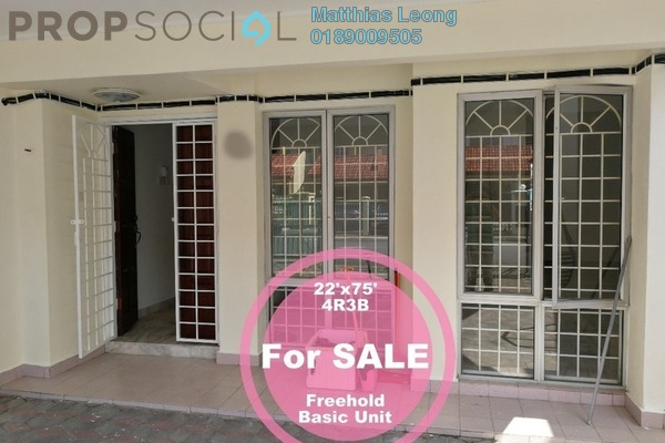 Terrace For Rent in Section 10, Putra Heights Freehold Unfurnished 4R/3B 1.5k