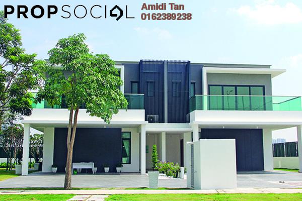 Semi-Detached For Sale in Vistaria Residences, Bandar Puchong Jaya Freehold Unfurnished 6R/6B 1.6m