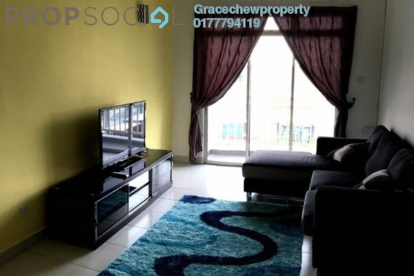Apartment For Rent in Tebrau City Residences, Tebrau Freehold Fully Furnished 2R/2B 1.35k