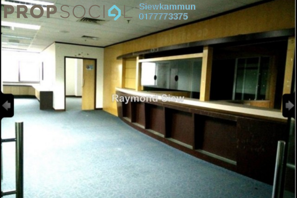 Office For Rent in Menara Duta 1, Dutamas Freehold Semi Furnished 5R/2B 3.5k