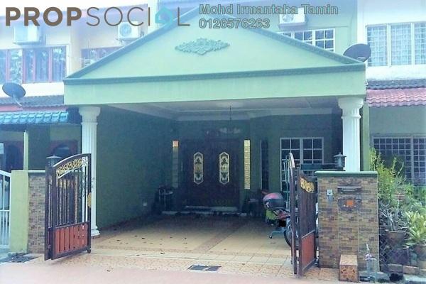 Terrace For Sale in Taman Cempaka, Pandan Indah Leasehold Semi Furnished 5R/3B 710k