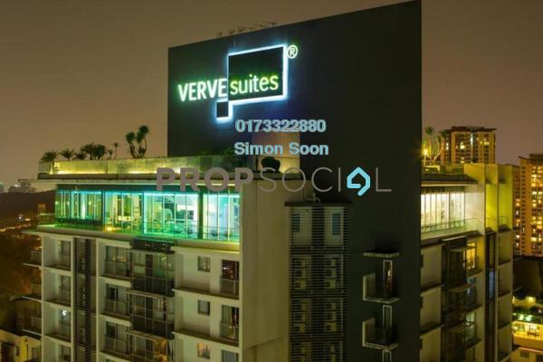 Condominium For Rent in VERVE Suites, Mont Kiara Freehold Fully Furnished 1R/1B 2.99k