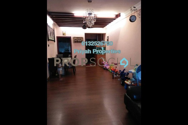 Condominium For Sale in Villa Angsana, Jalan Ipoh Freehold Semi Furnished 3R/2B 565k