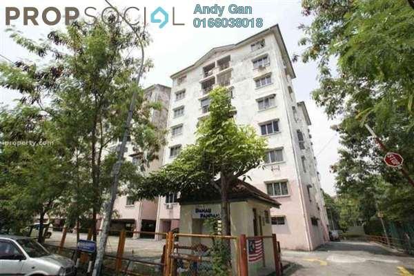 Apartment For Rent in Pandan Perdana, Pandan Indah Freehold Semi Furnished 3R/2B 1.2k